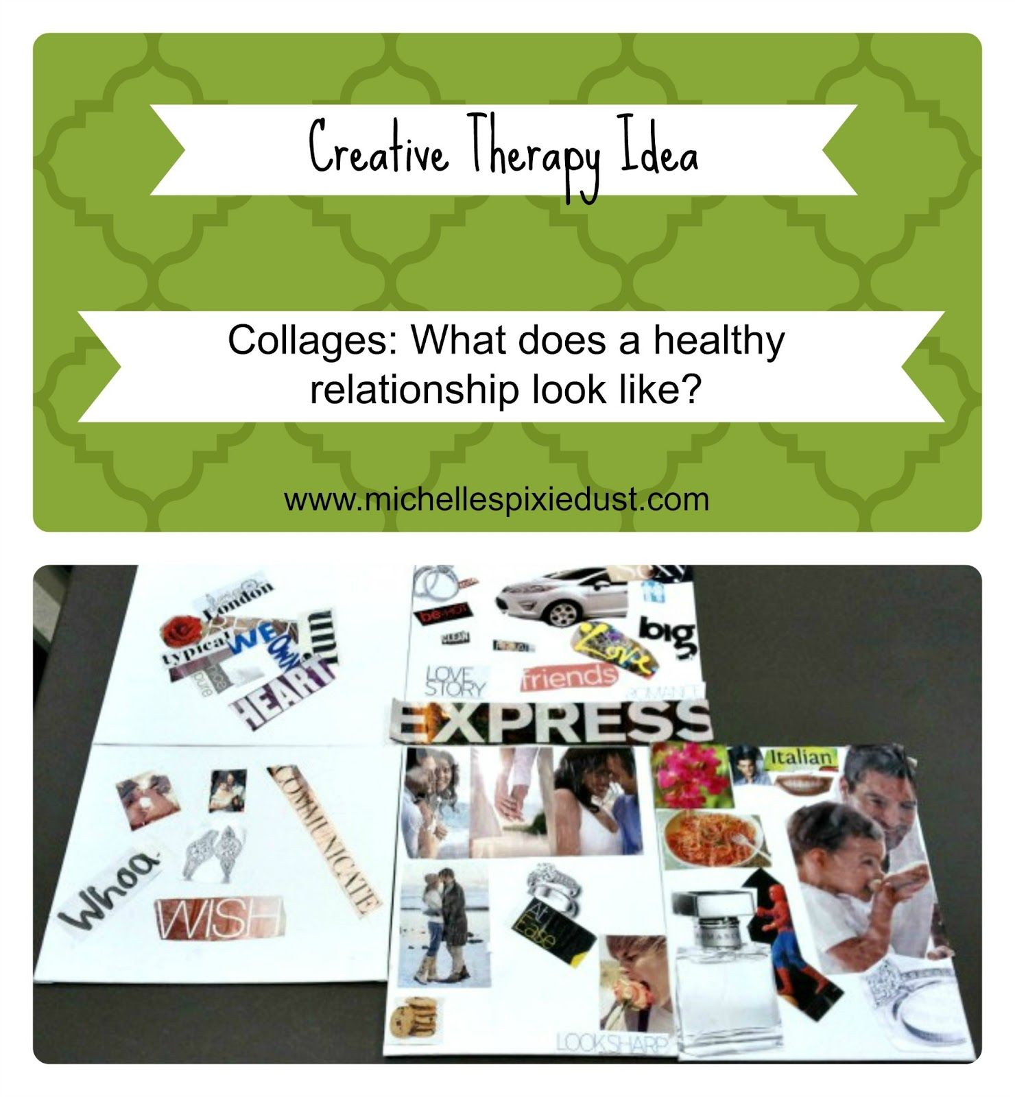 Creative Therapy What Do Healthy Relationships Look Like