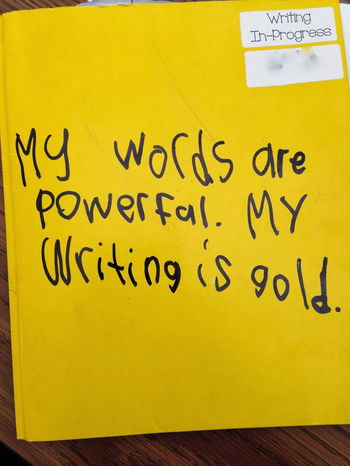 Get Excited About Writing Writing Folders Lucy