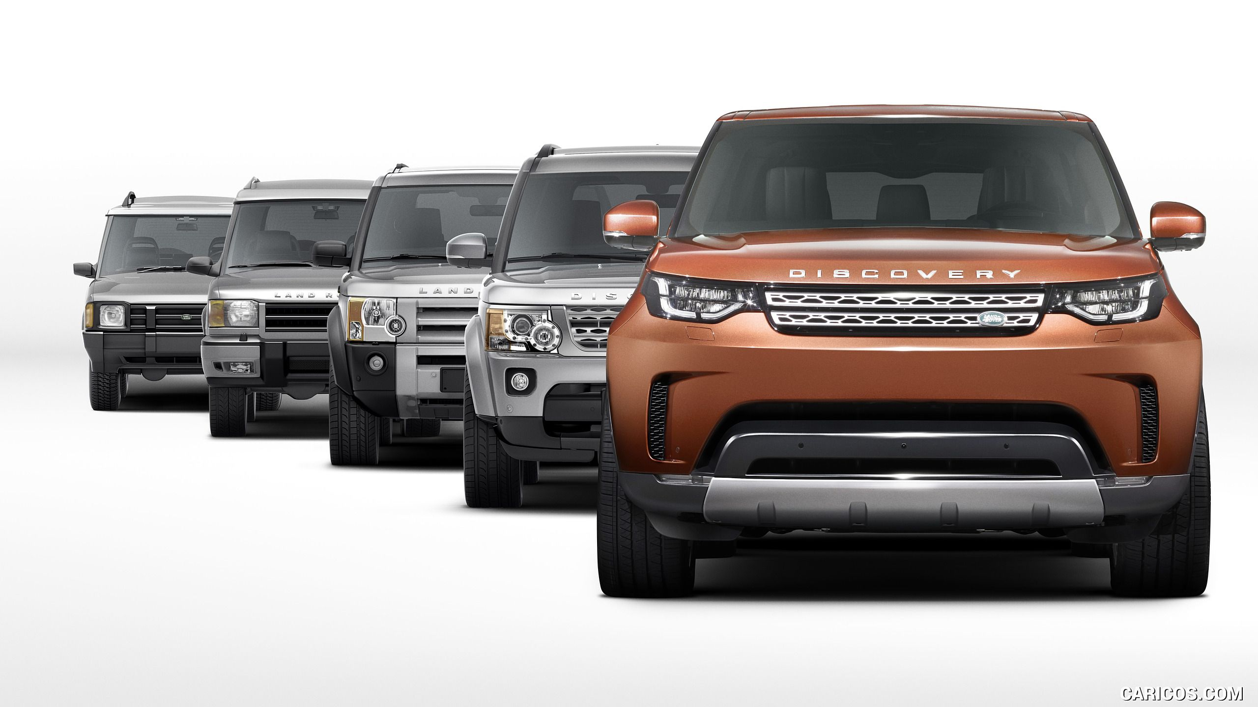 2018 Land Rover Discovery Generations HD
