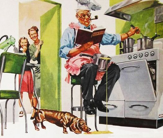Image result for dad cooking
