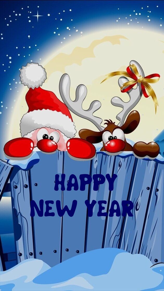 cell phone new year wallpapers