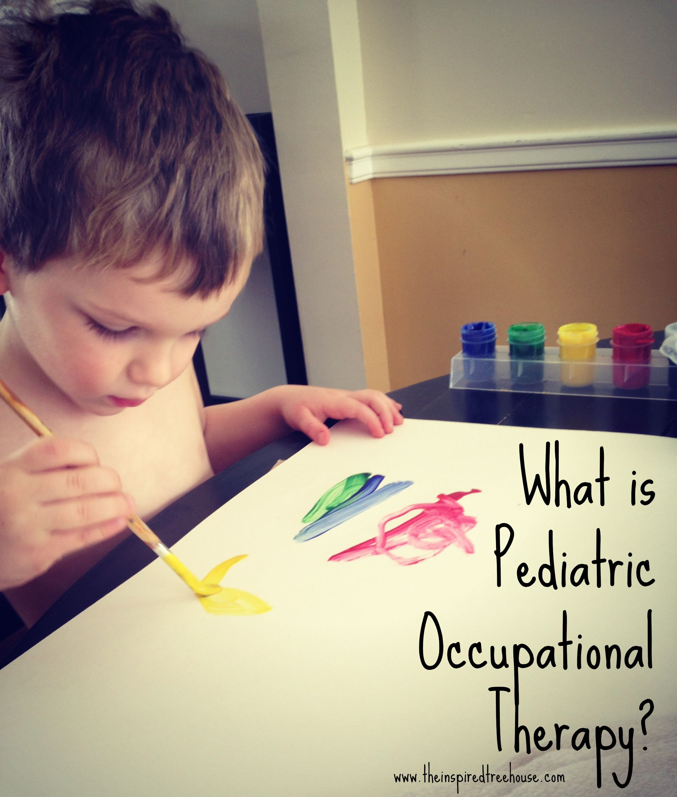 What Is Pediatric Occupational Therapy