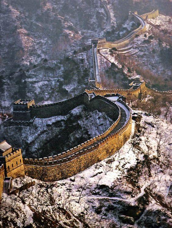great wall of china inner mongolia china china on great wall id=68730