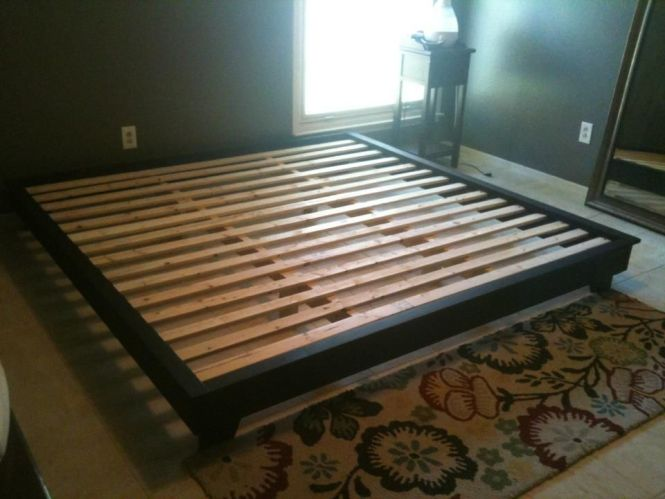 Diy Platform Bed Plans King Sized Hailey Do It Yourself Home Projects