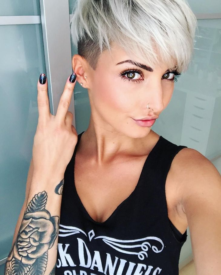 Pin by Louise Koserius on pixie haircut Pinterest Short hair