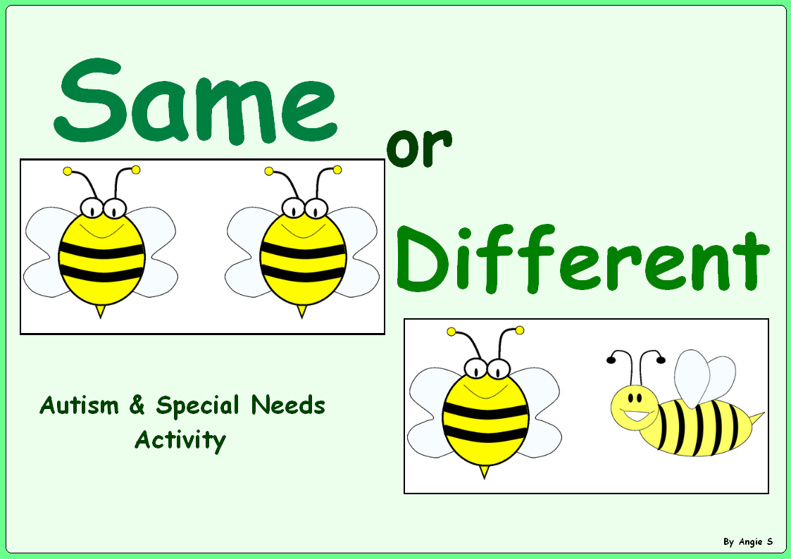 Free Same Or Different Sorting