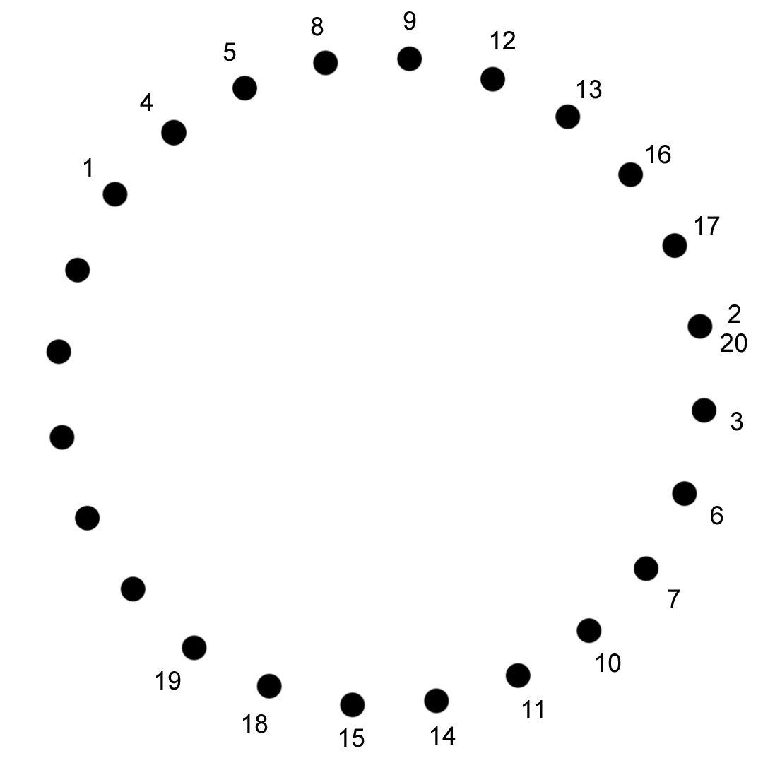 A String Art Pattern