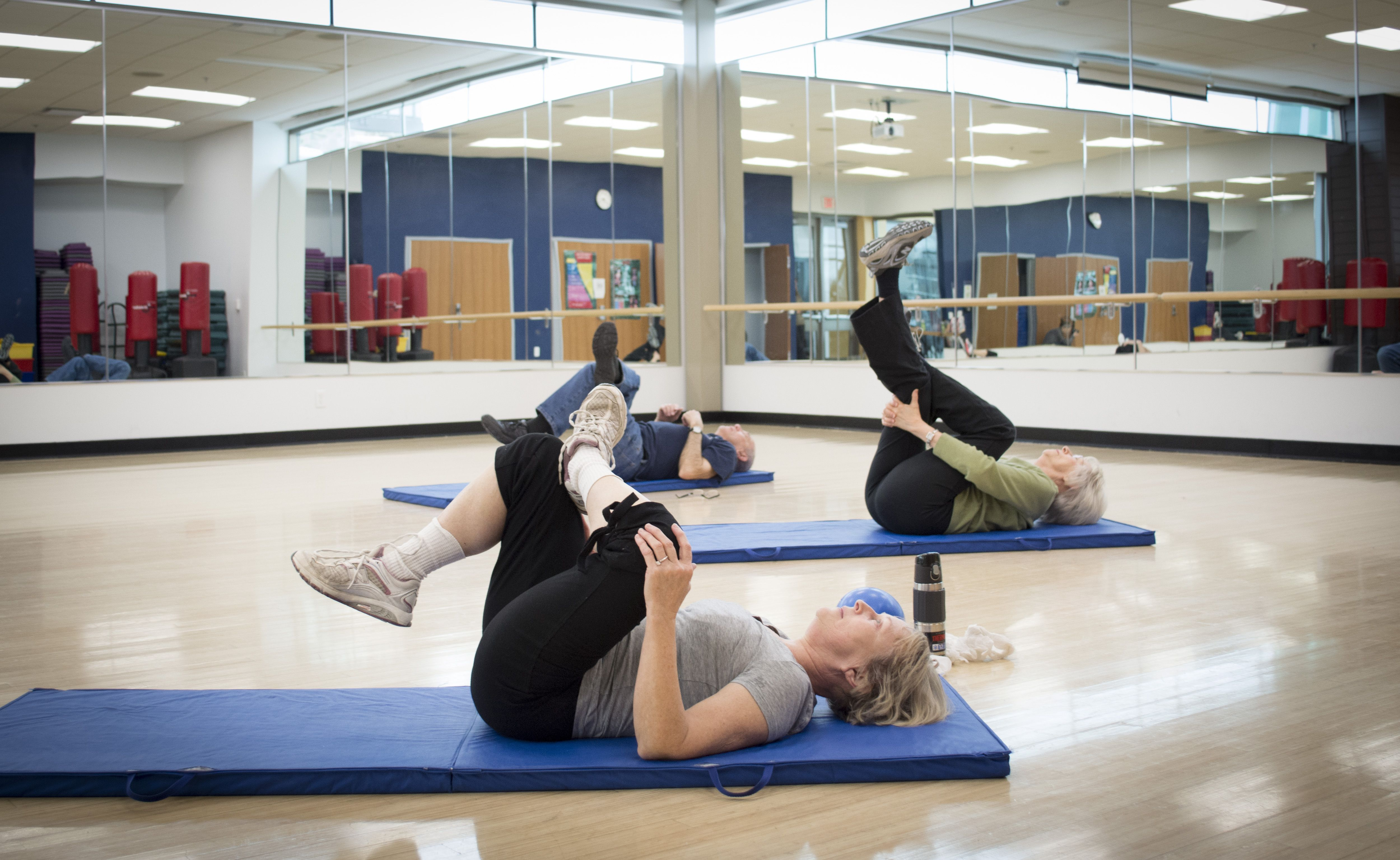 The Golden Eagles Fitness Program Offers Our 50 And Older