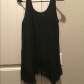 Black tank with lace hem black tank flowy tops and customer support