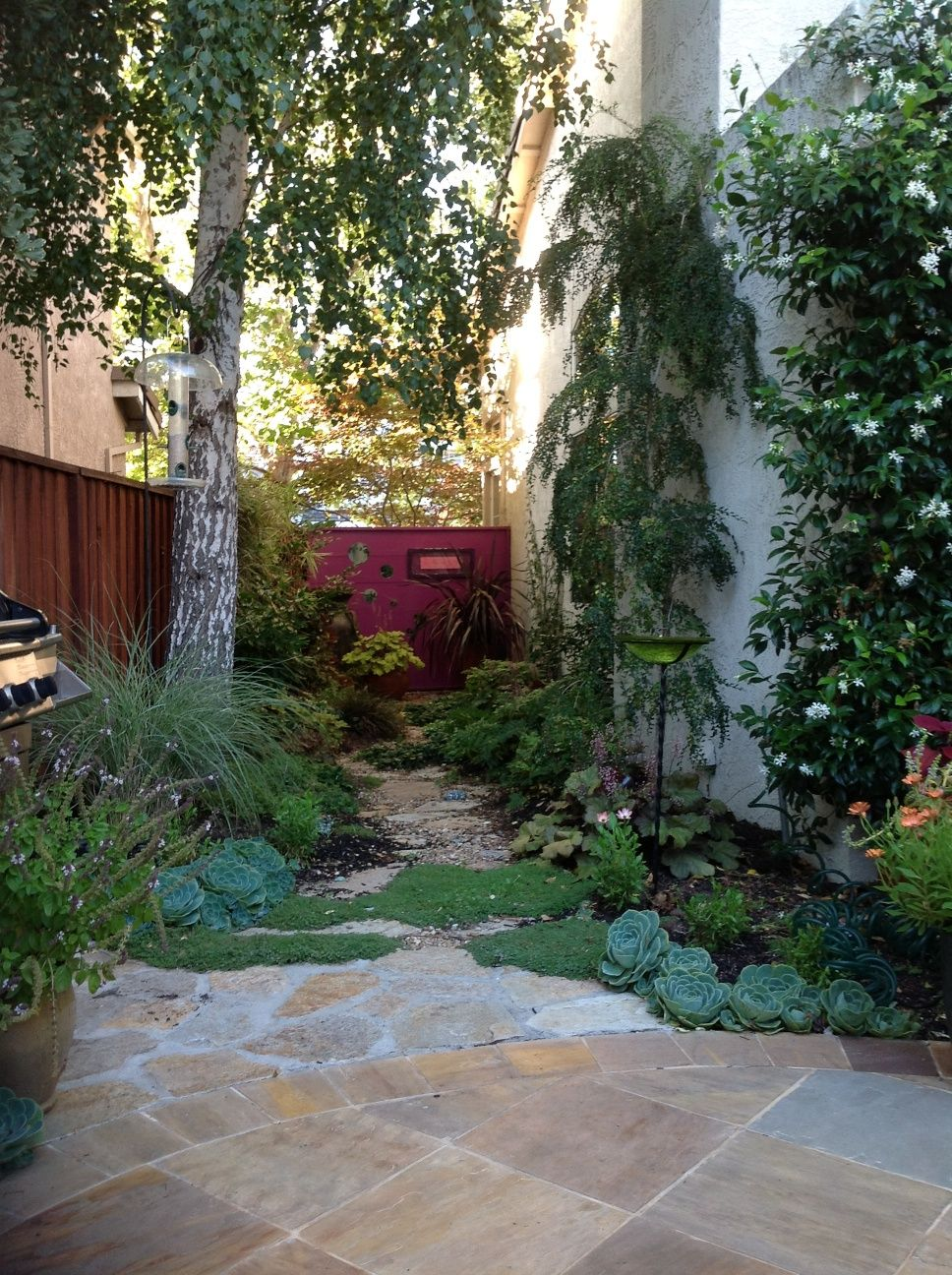 Image of: Narrow Side Yard Landscaping Ideas | Garden ... on Narrow Backyard Landscaping Ideas  id=27408