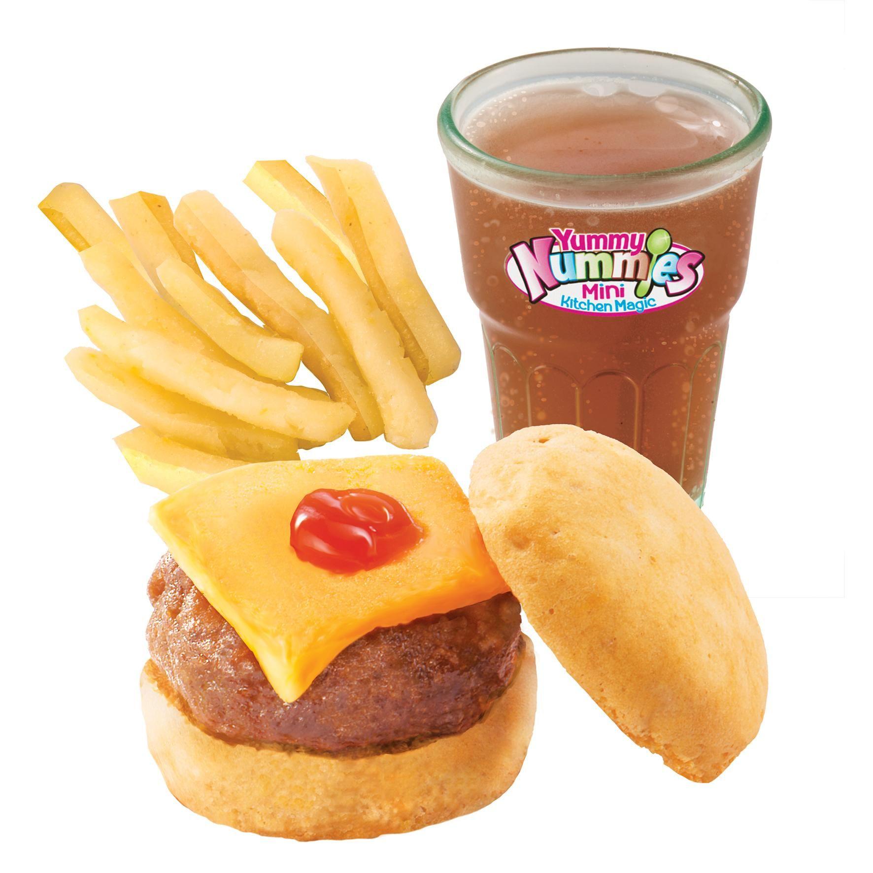 Yummy Nummies Make A Meal Hamburger And Fries Fun Set