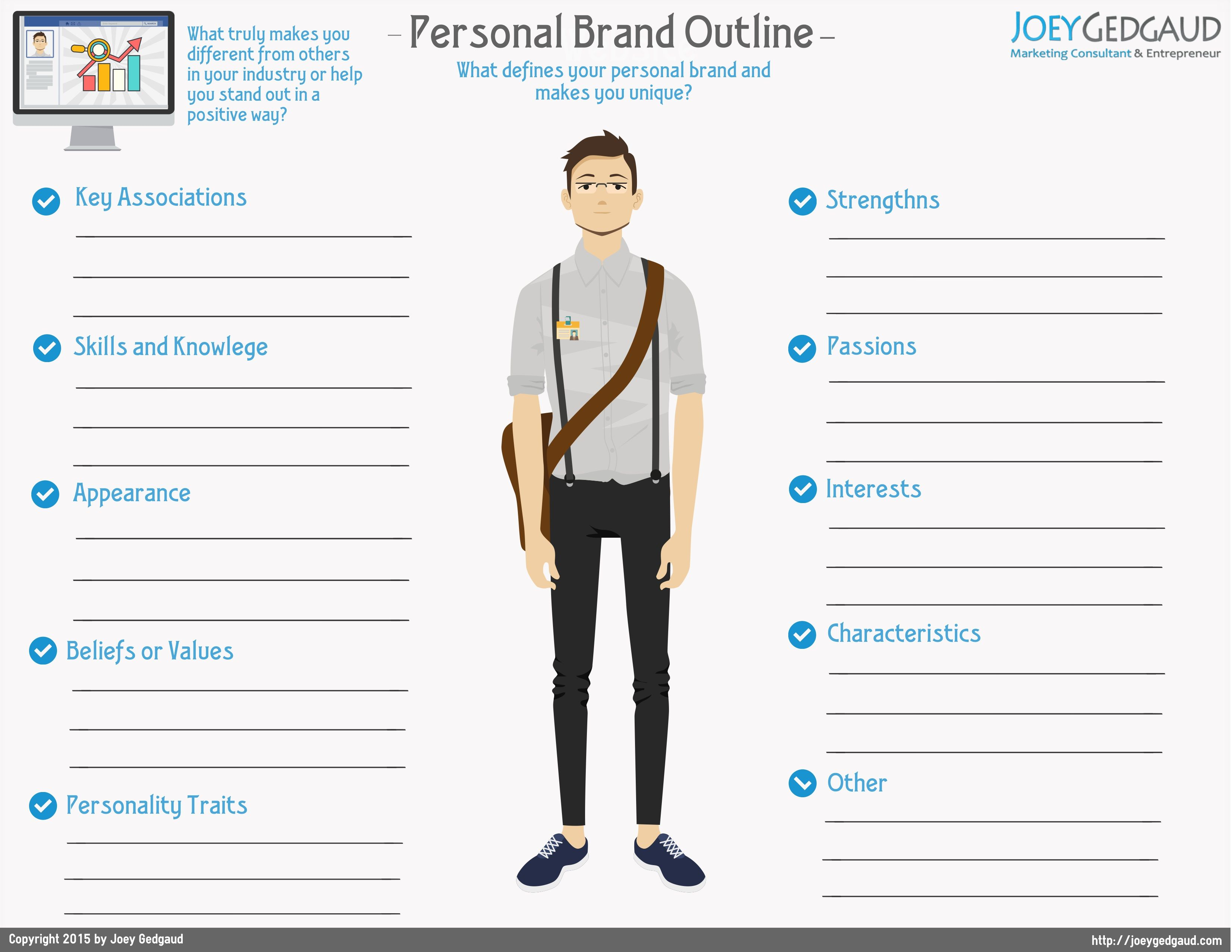 Personal Brand Outline