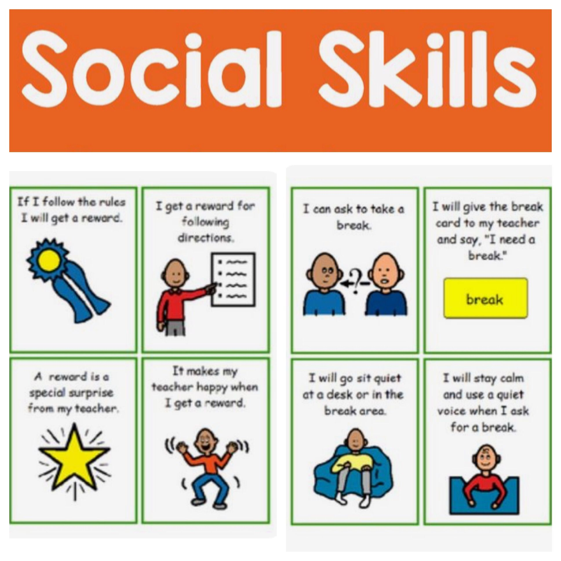 Ideas For The Special Education Classroom Tons Of Social Skill Stories Asking For Help