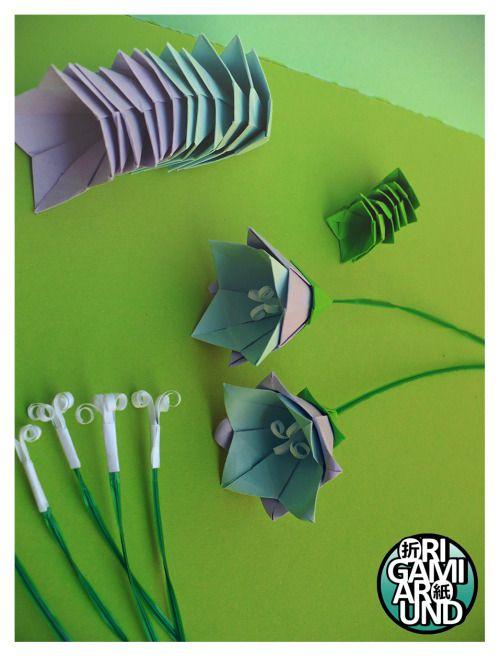 Origami working models origami tutorial lets make it i m still working on an origami bellflower plant yuri shumakov s mightylinksfo