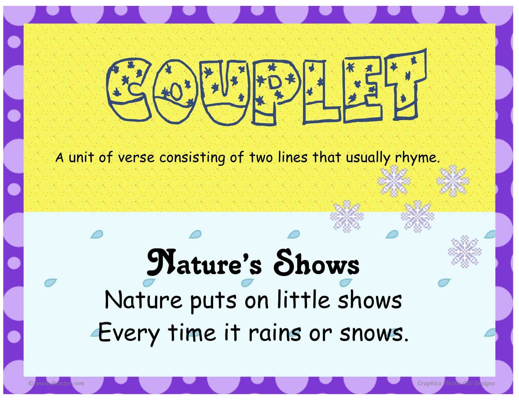 Couplets For Kids Kids Matttroy