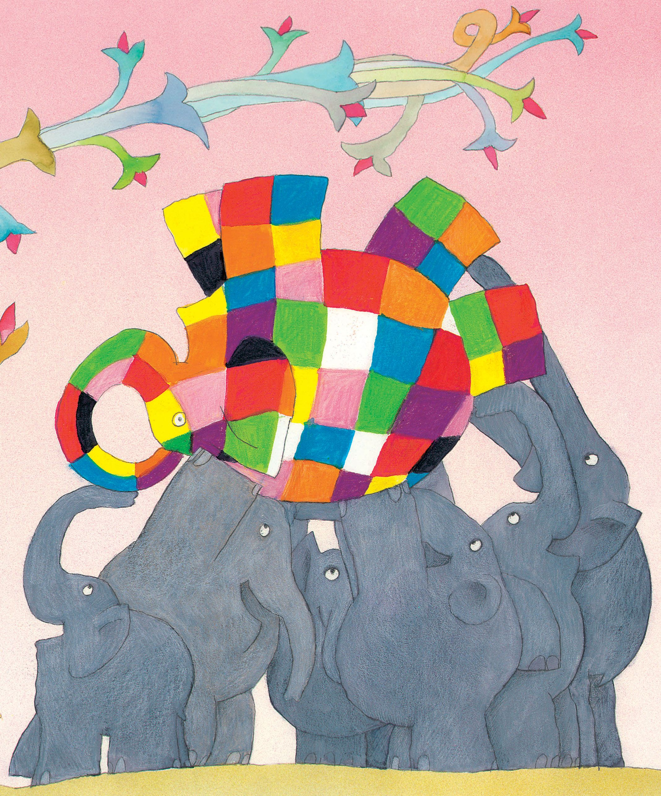 Elmer The Patchwork Elephant That S Me