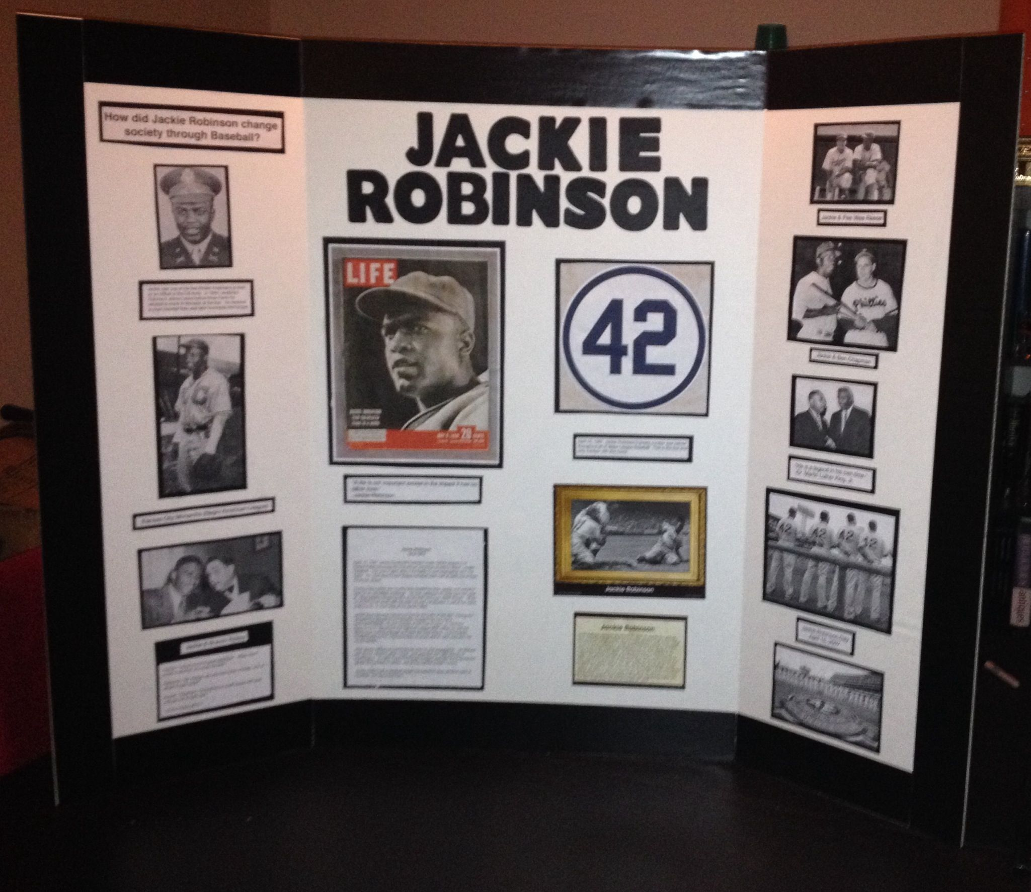 Thesis Statement Jackie Robinson In The Army