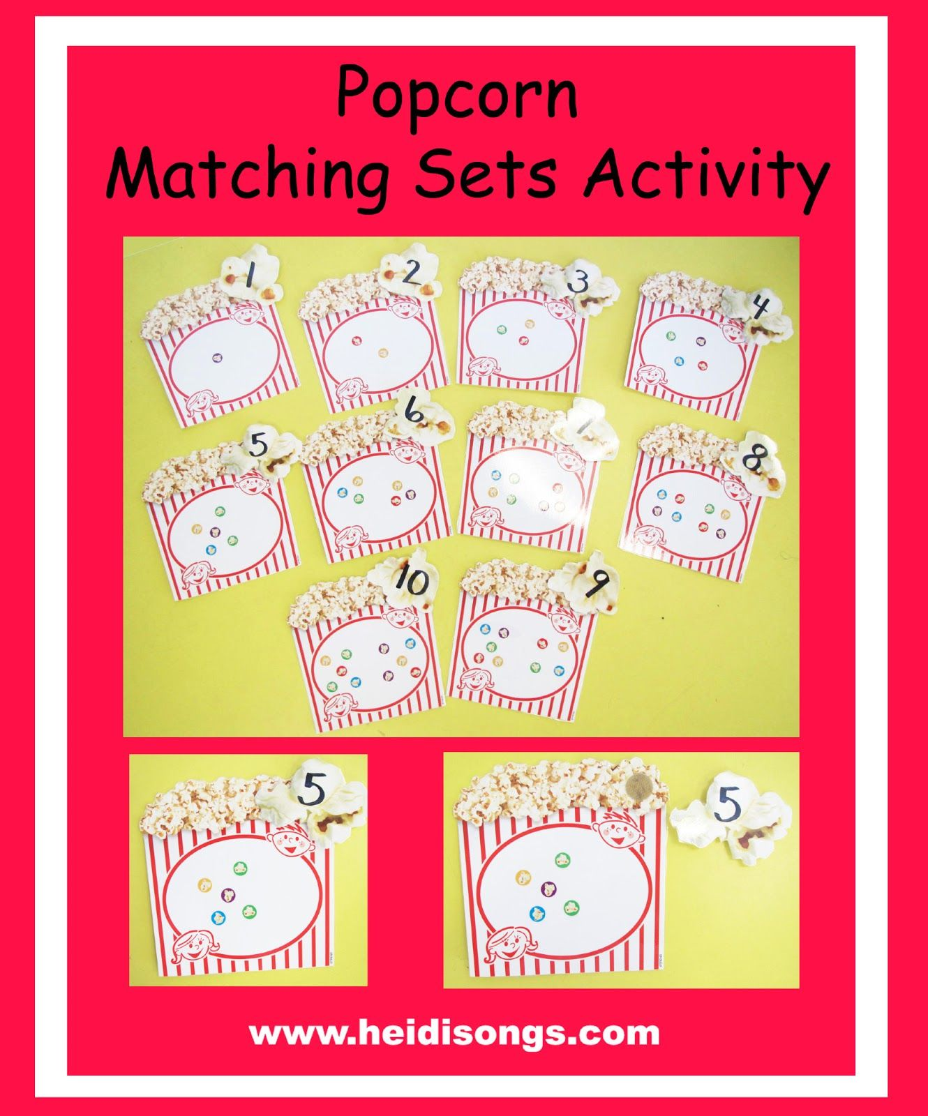 Ten Great Ideas For Matching Sets To Numbers From 0 30 Freebie Alert