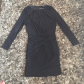 Zara long sleeve mini dress