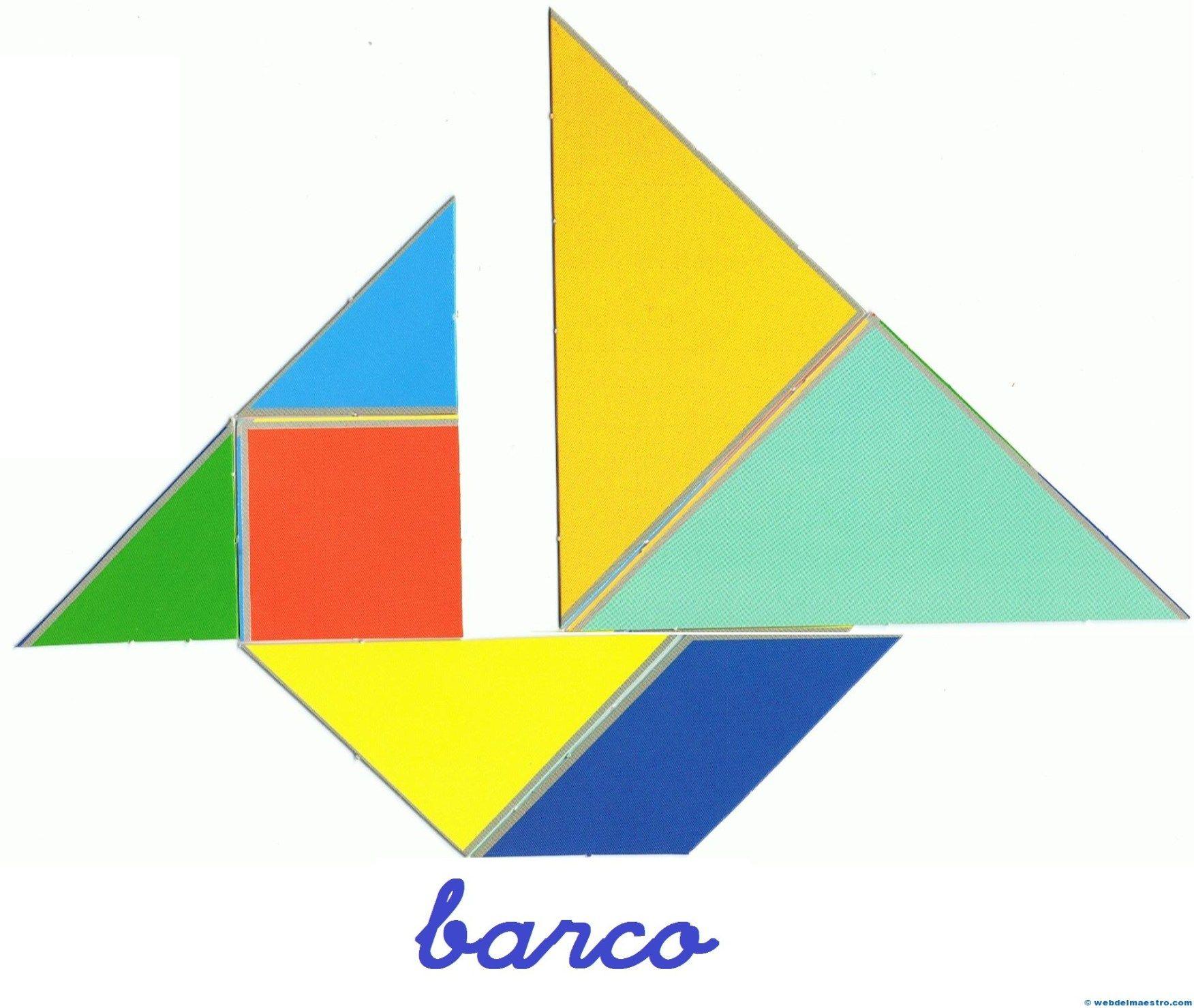 Tangram Figuras Para Imprimir Online Pretendo Facilitar