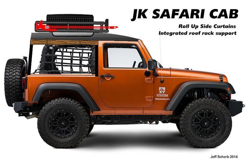 These Homemade Safari Cabs Make Your Jeep Wrangler So