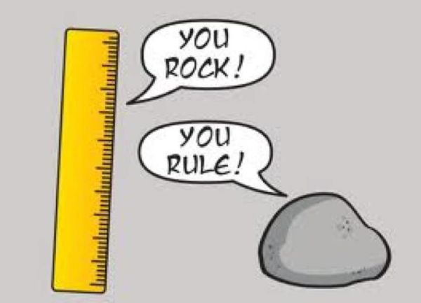 You rock! You rule! #teamwork We all have our strengths ...