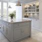 Grey french provisional kitchen french style pinterest