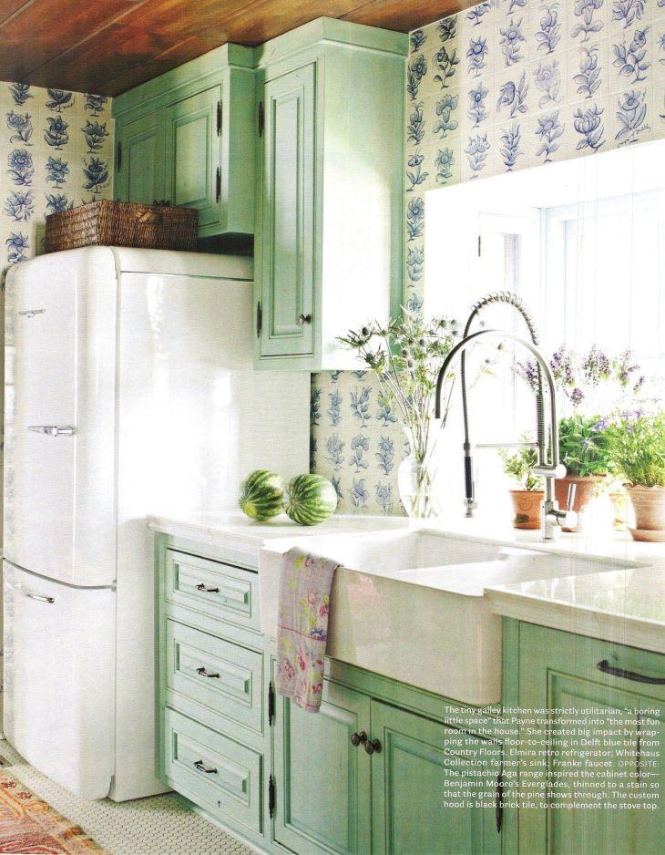 Ice Box A Flippen Life us kitchen design Retro Home Decor