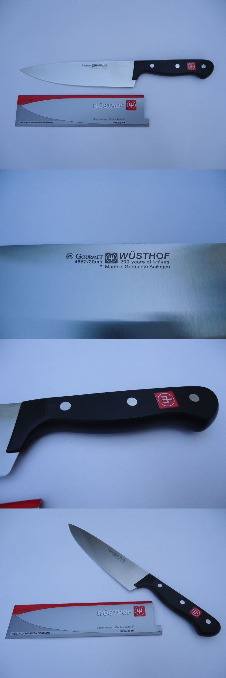 Kitchen and Steak Knives New Wusthof Gourmet Cook S Chef S