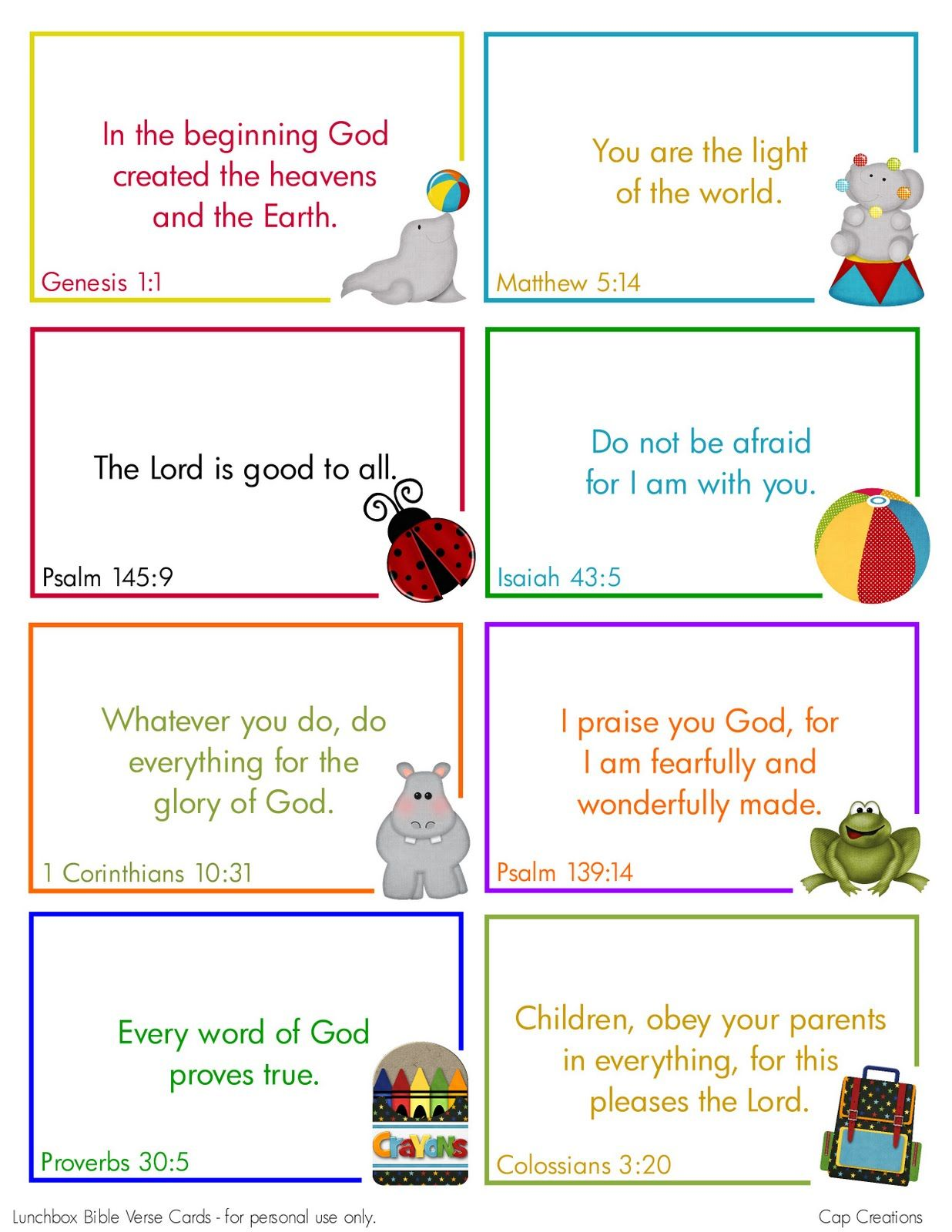 Free Printable Lunchbox Bible Verse Cards Cute Uld