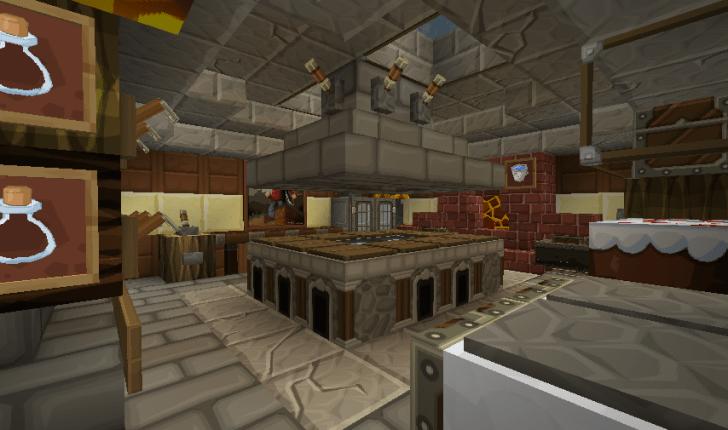 Minecraft Kitchen Ideas