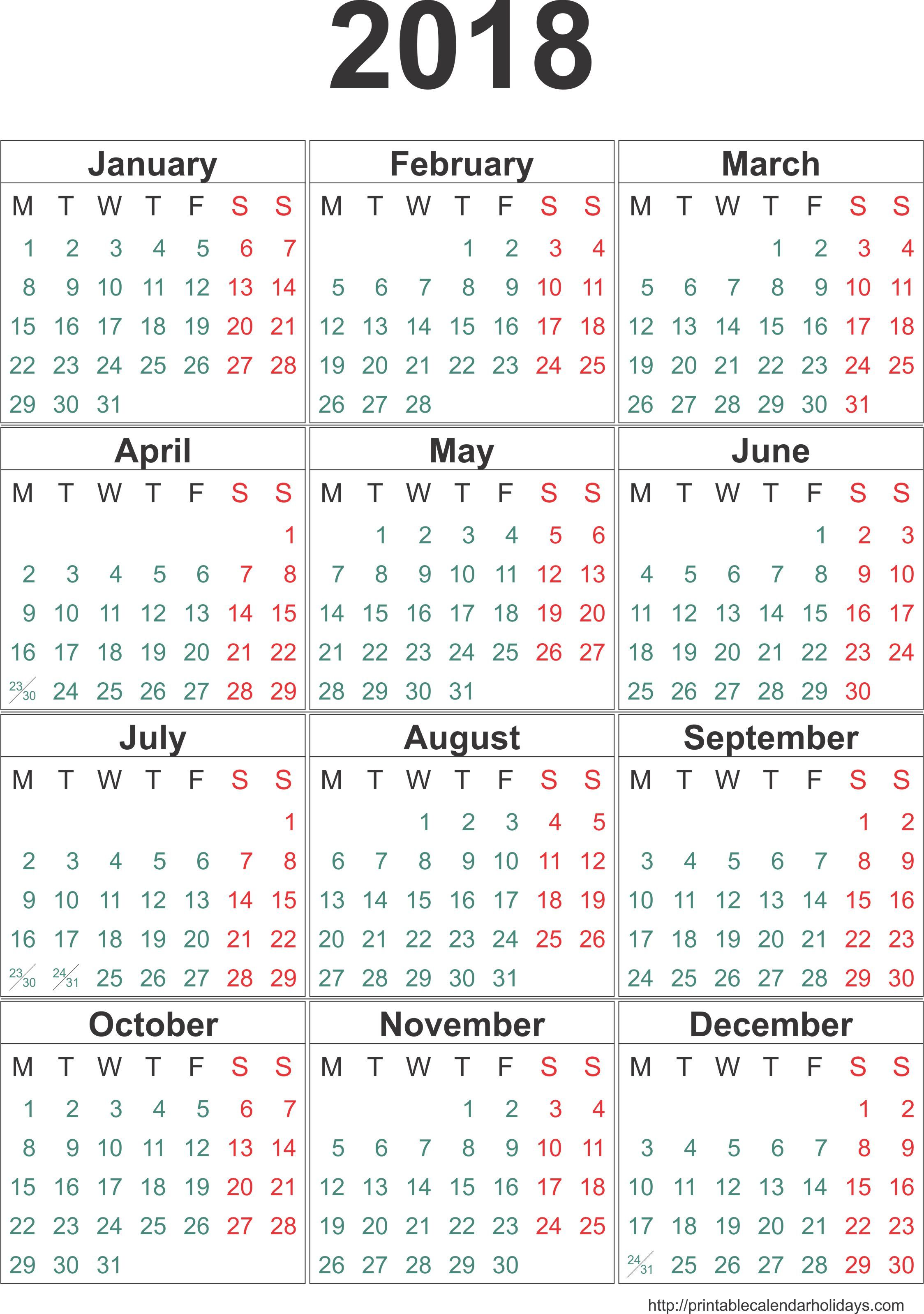 Pin By Printable Free On Yearly Calendar