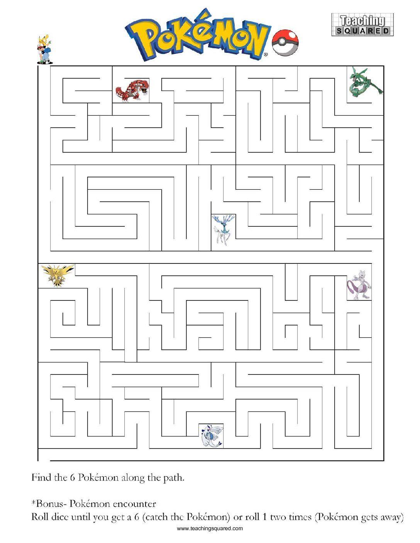 Pokemon Maze A