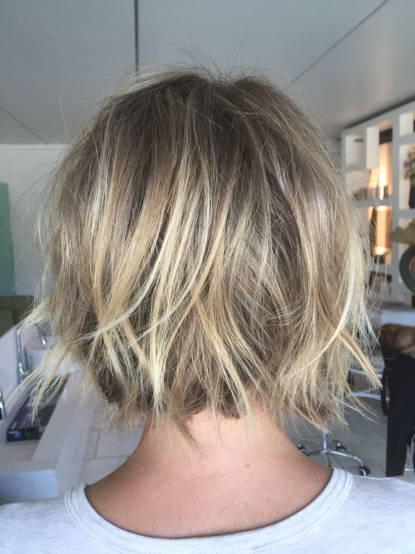 Textured Short Bob By Me Chelsea Ferguson Hair