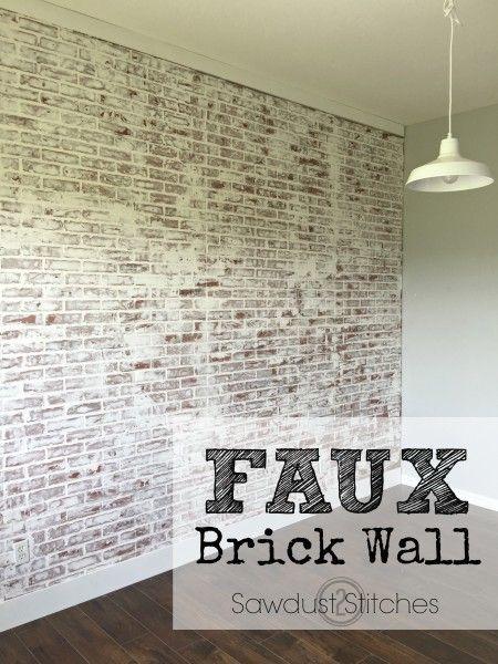 The 25 Best Brick Paneling Ideas On Pinterest Faux