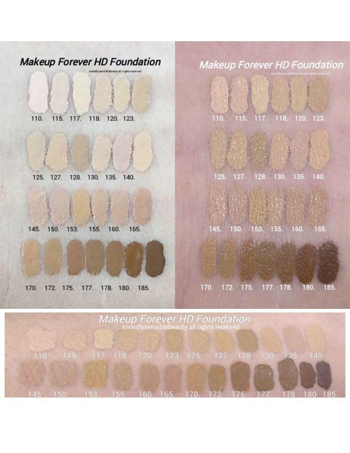makeup forever hd foundation 123 and 127 jidimakeupcom