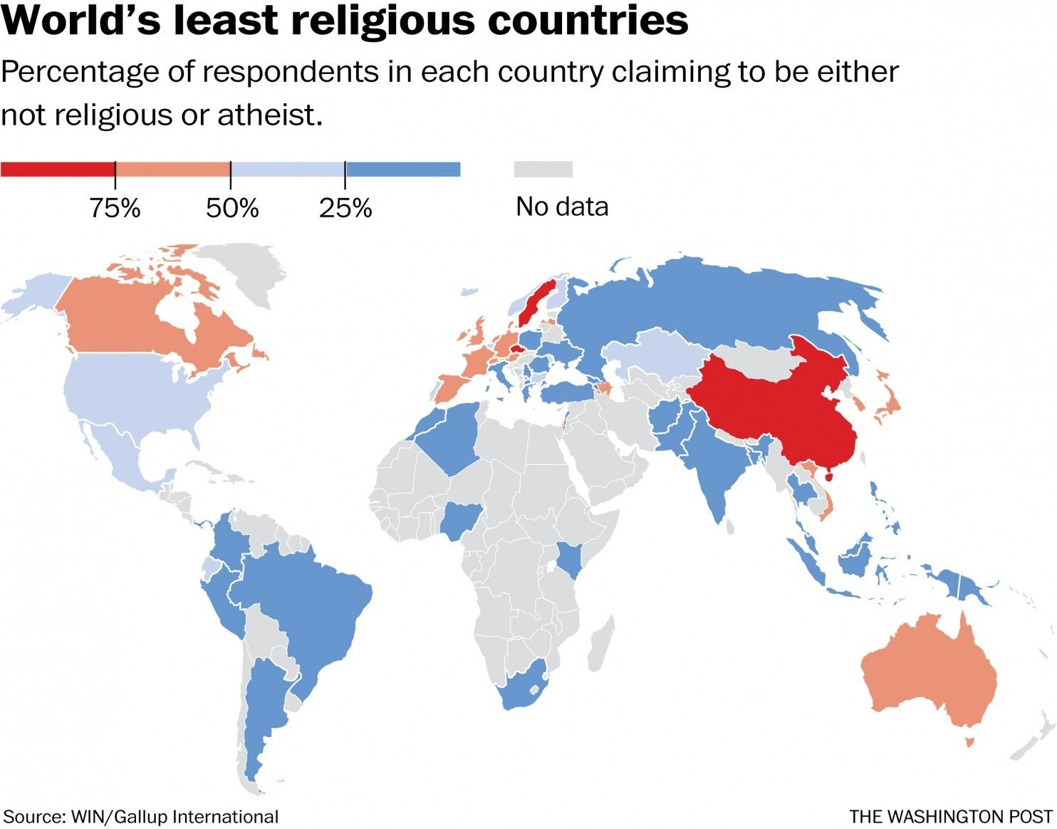Image result for Atheism rate in Europe