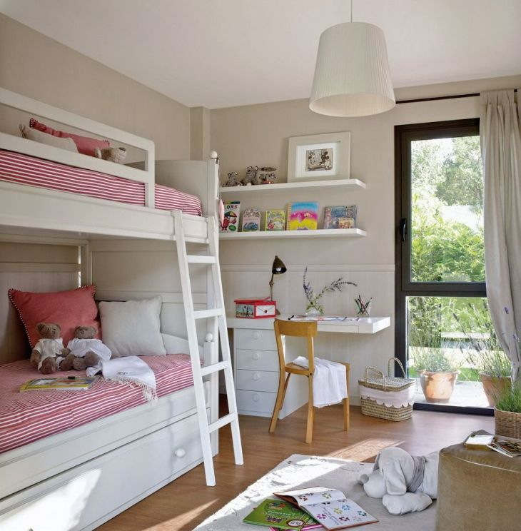 Pin by stasy on childrenus  Pinterest  Small spaces Shared rooms