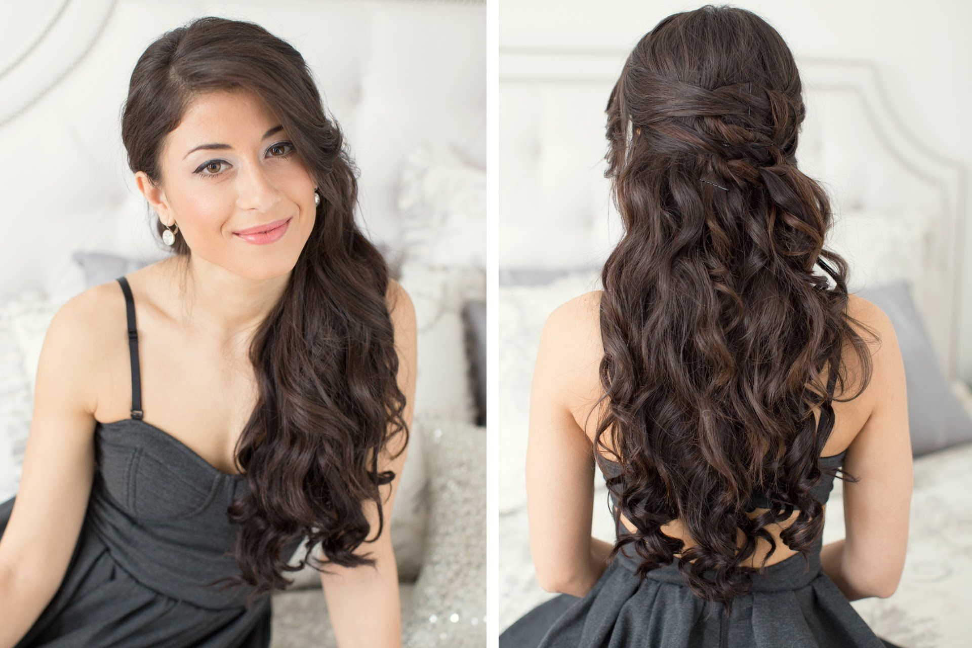 This is the perfect hairstyle for Valentine s Day It is very