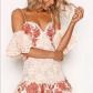 M boutique lace dress  For LOVE and LEMONS Mallorca Tank Dress NEW Size M Boutique  White