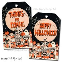 halloween thank you tags