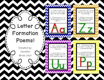 Alphabet letter formation poems inviview letter formation poems students and help teaching spiritdancerdesigns Images
