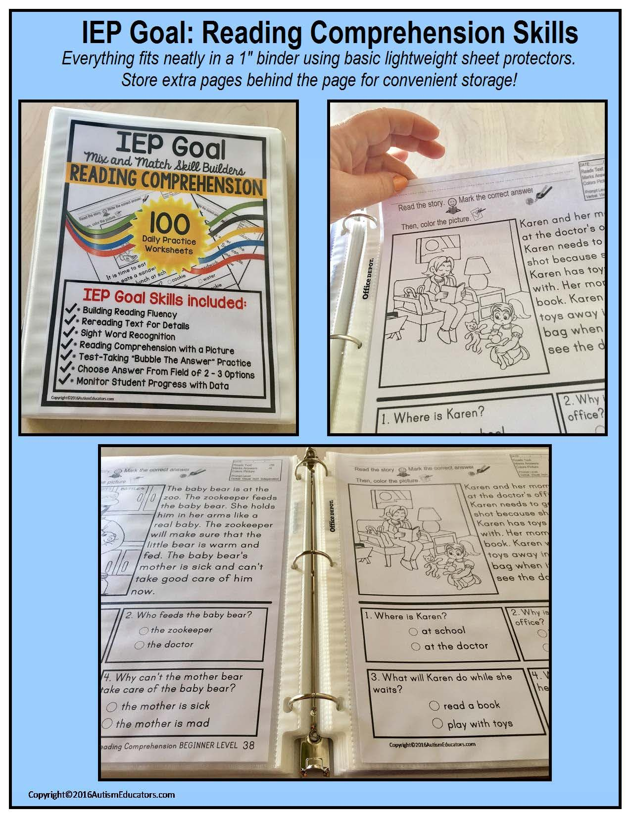 100 Print And Do Worksheets For Your Special Needs