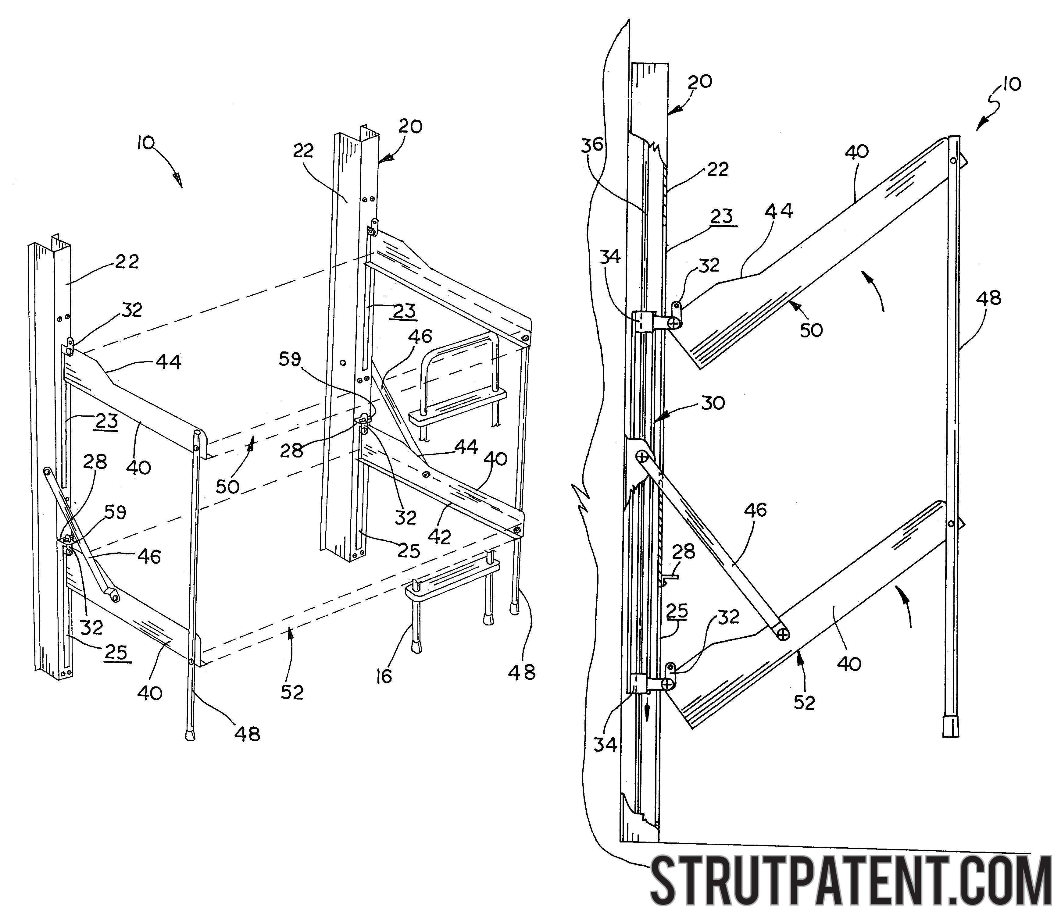 Folding Bunk Bed Plans Maximize Space By Placing A Custom