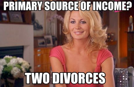 Image result for real housewife meme
