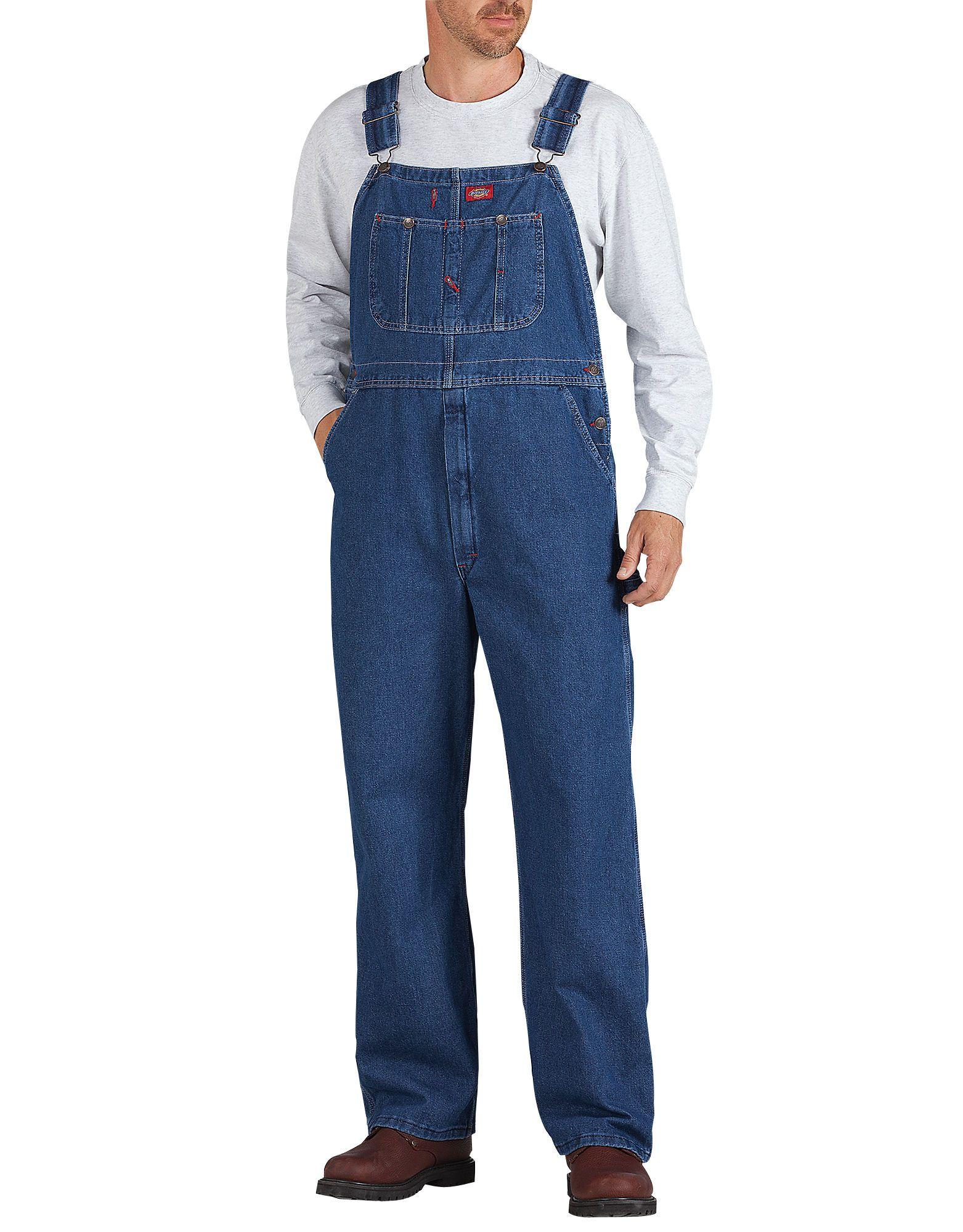 mens bib overalls coveralls dickies vintage denim on work coveralls id=62042