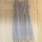 H&m blue lace dress  HuM lace mini dress