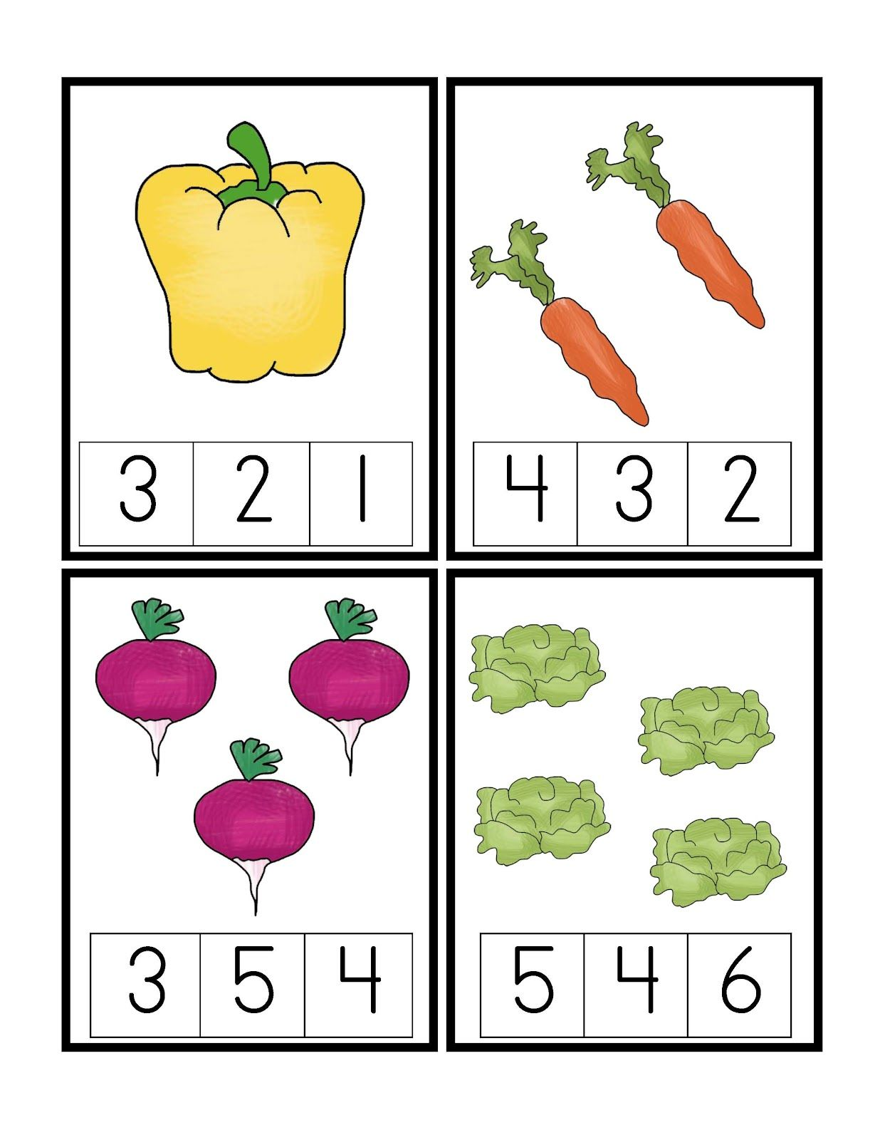 Preschool Printables New Let S Garden Printable