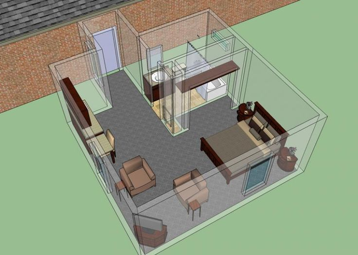 Mother In Law Suite Addition : House Plans, Floor