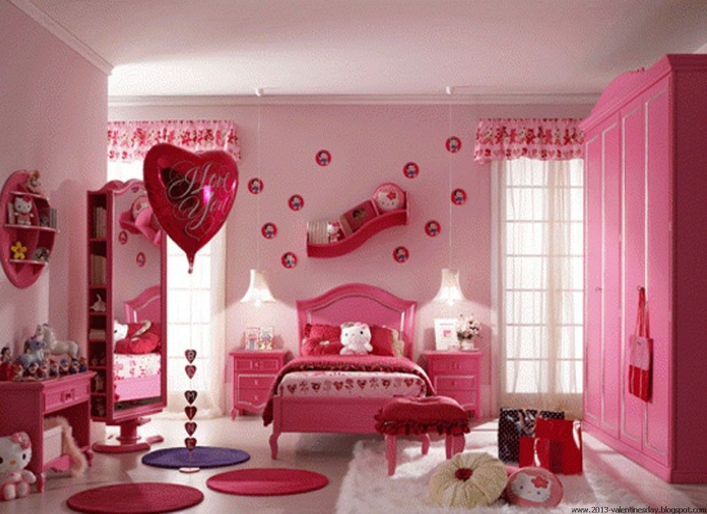 Valentines Decor Ideas Valentine S Day Bed Decoration